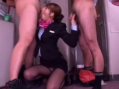 Exotic Japanese slut Jessica Kizaki in Horny Blowjob JAV clip