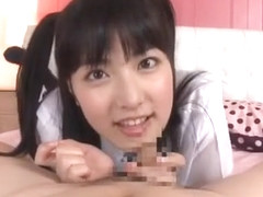 Crazy Japanese slut Kana Yume in Exotic Handjob JAV video