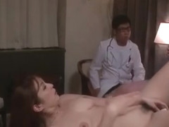 Jiggly Araki Hitomi explodes in orgasm as her body is covered