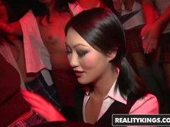 Reality Kings - In the VIP - Evelyn Lin Mia Lelani Voodoo - Asian Sensation