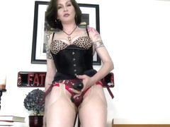 MAKE you Bi? What a Joke! - Mrs Mischief strapon milf femdom pov