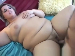 Hot young bbw's first scene