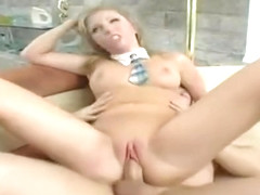 Juicy busty youthful whore Jaelyn Fox in handjob porn video