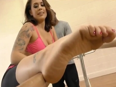 Eva Angelina Takes on a BBC in Yoga Pants