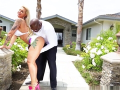 Hottest pornstars Lexington Steele, Ryan Conner, Proxy Paige in Fabulous Big Tits, Interracial porn video