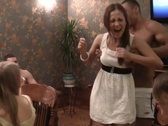 Anika & Mancy & Marika & Marya in cute college girls getting their twats fucked hard