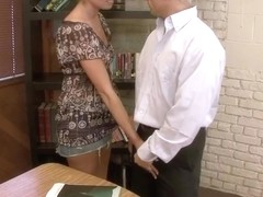 Victoria White & Marcus London in Naughty Book Worms