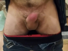 No Hands Jack Off and Dripping Precum