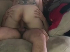 My husband fucks me on my period till I cum on his cock