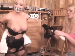 Disturbance: Cop Girl Ripped To Shreds! - from bondage-orgasm com