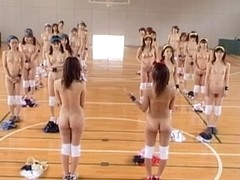 Japanese Stripped Gymnastics 1 by snahbrandy
