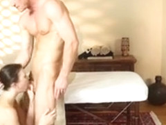 Sexy Hot Babe Rose Black Fucked And Jizzed By Her Masseur