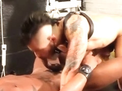 Group black dude cums hard