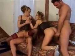 Stacked Blondes Victoria Swinger And Liz Honey Orgy