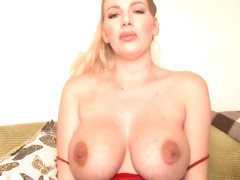 Danielle Maye Milky Boobs in private premium video