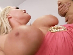 Buxom blonde Sadie Swede got a great morning fuck by her hot neighbor