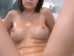 Winsome busty young harlot Hayden Winters likes to masturbate
