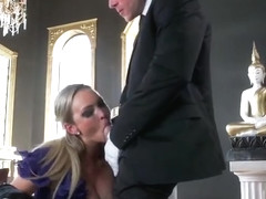 Godlike buxomy MILF Abbey Brooks got her asshole fucked