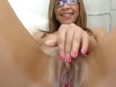 Amateur bitch double toying
