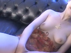 Curvy and naughty girl Misuzu Imai has some solo fun at home
