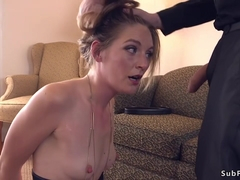 Dude punishes and anal fucks slut bdsm