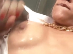 Seductive Samia Duarte takes on two big dicks
