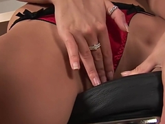 Sexy Carmen spreads her pussy wide - CzechSuperStars