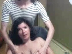 CP-girl and her tranny husband
