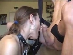 Deepthroating and gagging as the proper way of doing it