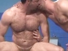 Incredible male pornstar in best blowjob, bears gay sex clip