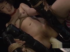 Aoki Rin Jav Idol Gets Ball Gagged Spanked Rope Bound