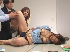 Amazing Japanese whore Kana Mimura, Rin Yamaki in Crazy BDSM, Office JAV clip