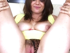 Chrissy Greene - Load Of Cum For Amateur Brunette To Swallow