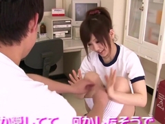 Schoolgirl Nippon Teen Toyed In Hairy Pussy