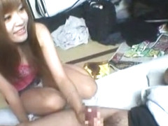 Fabulous Japanese model Erika Kashiwagi in Hottest Handjobs, Girlfriend JAV movie