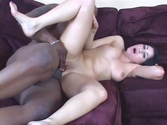 Naughty Slut Gets Her Tight Pussy Banged With Black Dick