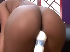 Slutty Monique Gets Her Tight Black Ass Pounded