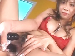 Fabulous Japanese whore Rino Konno in Exotic Lingerie, Toys JAV video