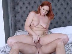 Nailing Beautiful Ginger Cutie Edyn Blair