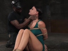 Mature Sub Disciplined By Black Maledom