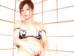 Incredible Japanese model Emi Sasaki in Hottest Blowjob, Lingerie JAV clip