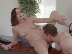 Guy caught wife fucking his accountant