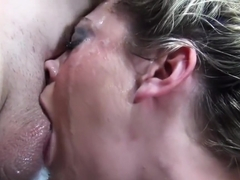 Cute Bailey Blue gets her face fucked hard