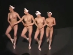 naked on stage ballet
