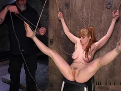 Rough Pussy Fuck For Redhead Slave