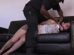 Bound Slave Disciplined With A Vibrator