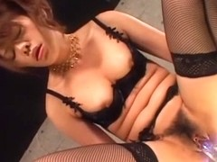 Best Japanese chick Sara Nakamura in Crazy JAV uncensored Stockings video