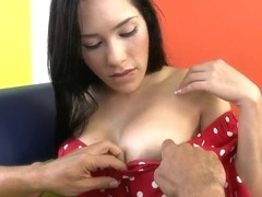 Celeste and her sweet lover have dirty sex
