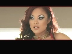 Steamy shower with asian porn diva Kaylani Lei