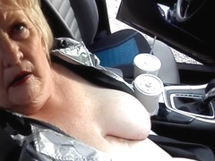 On The Road Again, Nude, Masturbating, Orgasm After Orgasm